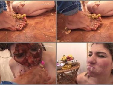 Foot gagging - Newmfx - Foot and Food Domination