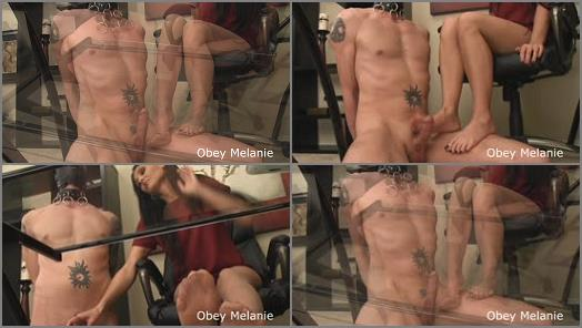 Orgasm Control - Obey Melanie – Cum for coffee