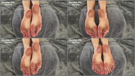 Oily soles – Only Girl Feet – Stella Liberty and your perfect oily dirty feet soles