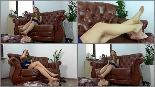 Pantyhose feet – Polish Mistress – Helena – Teacher Give Lesson To A Student – Polish Language – Part 2