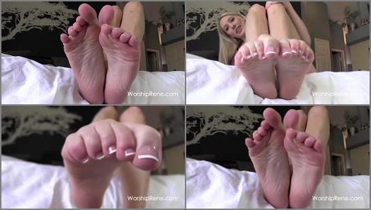 Princess Rene  Stroke For My Pretty French Pedi preview