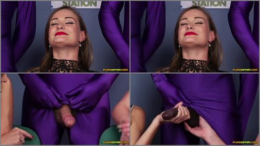 Ejaculation – PureCFNM – Stress Balls –  Catalia Valentine, Clea Gaultier and Honour May