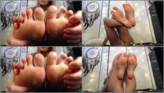 Toes fetish – Queen Jennifer Marie – VIEWS YOU LIVE FOR