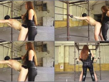 Strap-on - Queen Lissandra – Strapon Queens – Dutch Slave penetrated by German Godess