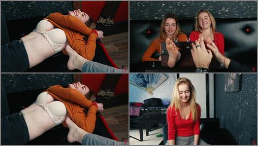 Ticklish girl – Russian Fetish – Classic tickling of two girls + tickling torture by feet