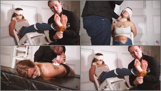 Foot tickling – Russian Fetish – I will tie her and I tickle until no one sees Part 2 – Return to the lair (tickling and foot worship)