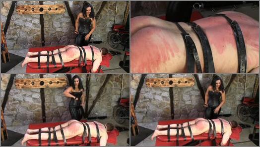 Domination – SADO LADIES Femdom Clips – A Hard Belting –  Mistress Ezada Sinn