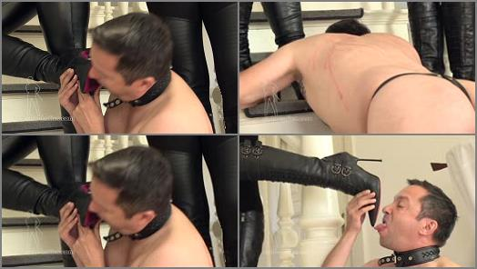 Boot Licking – SADO LADIES Femdom Clips – Arrogant Women In Boots  Starring Mistress Nemesis and Countess Stella