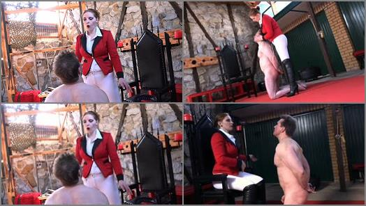 SADO LADIES Femdom Clips  Cruel Slaps From The Ridingmistress   Mistress Cloe preview