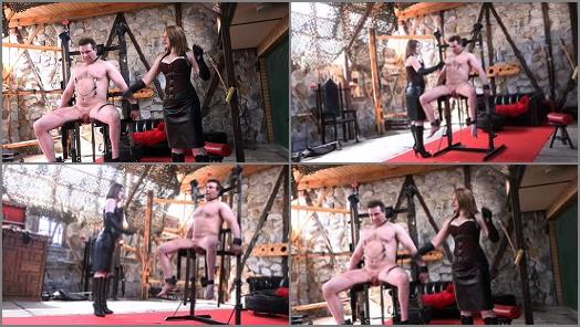 SADO LADIES Femdom Clips  Cruel Torture On The Rack   Mistress Cloe  preview