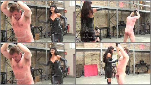 Leather – SADO LADIES Femdom Clips – Endless Cruel Whipping – Full Version  Starring Mistress Kassi
