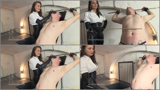 Nipple Play – SADO LADIES Femdom Clips – Fat Belly Caning –  Lady Pascal