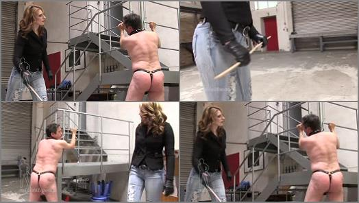 Glove Fetish – SADO LADIES Femdom Clips – Good Morning Caning  Starring Mistress Cloe