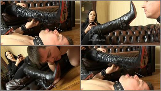 Boot Domination – SADO LADIES Femdom Clips – Mistress Nemesis
