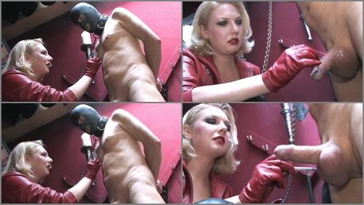 Balls – SADO LADIES Femdom Clips – Torture With Cigarette –  Mistress Akella