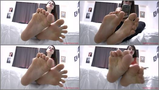 Highly arched feet – Sasha Mizaree – Blackmailed by Goddess Feet