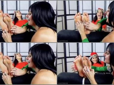 Foot tickling - Scarlett Sinns Twisted Fetishes – The Evil Elf