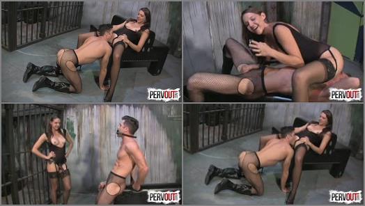Sensual Femdom – She Owns Your Manhood – Sadie Holmes has a Chastity Fuck Toy