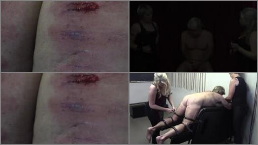 Strafkamer  Ronald Frump  The Hurt Locker Room   Mistress Baton and Mistress Bardot preview