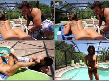 Bratty Stepdaughter - Subby Hubby – Stepbrother Worships Her Feet -  Mistress Evelin
