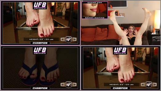 Wrinkled soles – THE BABS – Ultimate FEET Battles – TERRA MIZU VS SEXY SAMMY