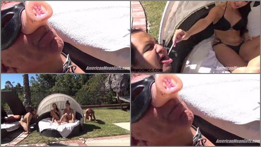 Humiliation – THE MEAN GIRLS – Ashes for the Dirty Old Man –  Princess Bella and Princess Beverly