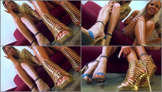 Financial Domination –  THE MEAN GIRLS- P O V – Grovel For Us Slave –  Princess Beverly and Goddess Nina
