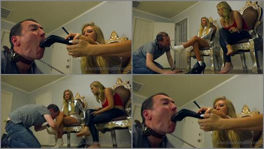Foot Humiliation –  THE MEAN GIRLS – Second Chance For EuroTrash –  Princess Ashley and Princess Chanel