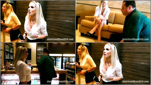 Femdom –  THE MEAN GIRLS – The Boss-Bitch and Her Pathetic Assistant –  Ms. Platinum