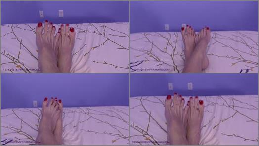 Long legs – Terra Mizu – Top of my giant feet – Mikayla Miles