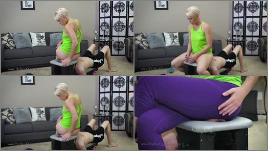 Human Furniture –  The Real Queendom – Endurance is Important –  Domina Helena