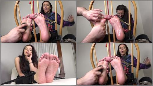 "Tickling – The Tickle Room – MFYT Marie First Tickle ""Soft Feet, Sweet Giggle"" FULL AND UNCUT"