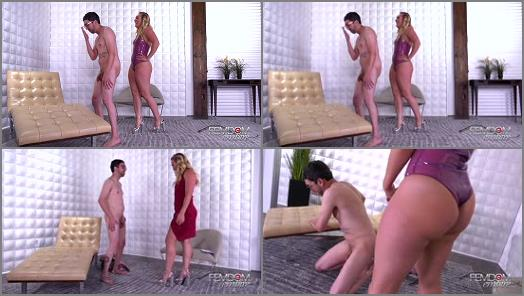 Ballbusting – VICIOUS FEMDOM EMPIRE – Alternative Therapy –  Aj Applegate and Jay Wimp