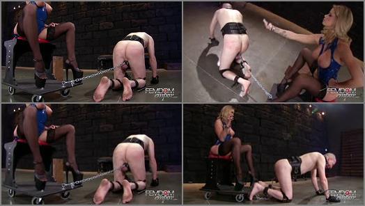 Jessa Rhodes – VICIOUS FEMDOM EMPIRE – Chastised Chariot Gimp  Starring Mistress Jessa