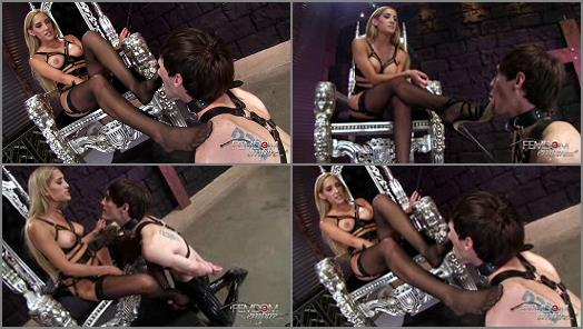 Chastity – VICIOUS FEMDOM EMPIRE – Chloe's Foot Slave  Starring Mistress Chloe