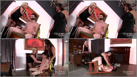 Amazons – VICIOUS FEMDOM EMPIRE – Interrogation –  Ms. Lexi and SAHARRA