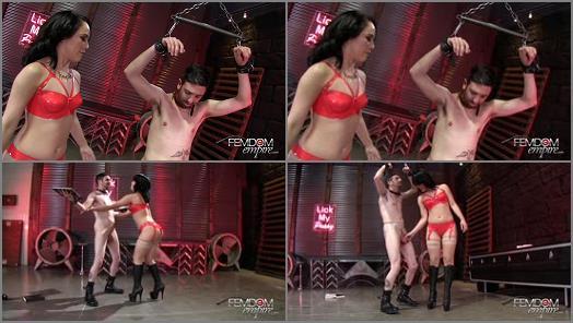 Ball Abuse – VICIOUS FEMDOM EMPIRE – Kristina's Cruel Ballbusting Game  Starring Mistress Kristina Rose