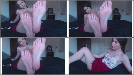 Shiny soles – Venus Venerous – speed jerk to my perfect feet