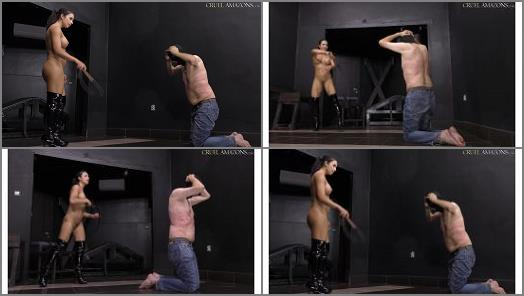 V –  CRUEL MISTRESSES – 4K UHD Bullwhipping from Mistress Mira
