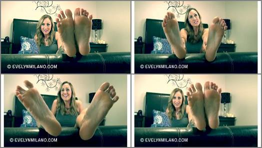 Toes fetish – Evelyn Milano – The Power Of My Feet – week 2