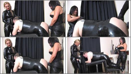 Femme Fatale Films  Dirty Fuck Slut Slave   Mistress Athena and Mistress Real  preview