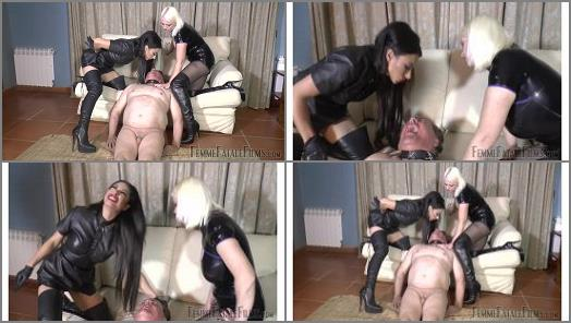 Femme Fatale Films  Soaked In Spit  Part 2   Divine Mistress Heather and Goddess Tangent preview