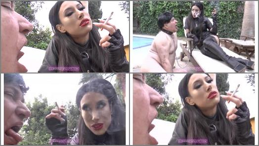 Goddess Tangent World of Femdom  You are now my Human Ashtray  preview