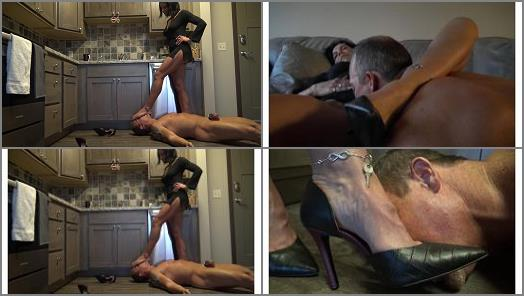 High Heels –  Goddess Zephy – Abuse of Power (locked in chastity)