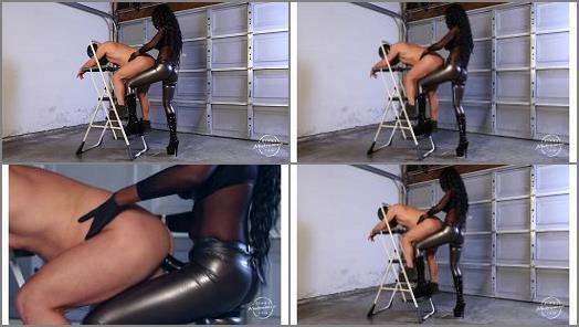 Anal –  Kinky Mistresses – Fucked In The Garage –  Mistress Adina