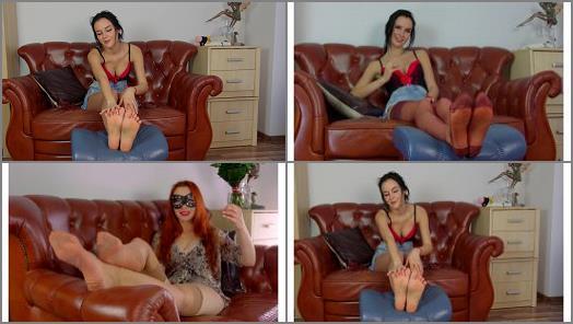 Cum to feet – Polish Mistress – Helena And Eliza Will Milk You Fast – MIX