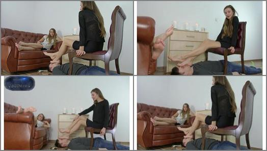 Polish Mistress  Larisa And Helena  In Foot Fetish Club preview