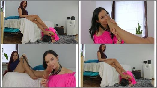 Nylon fetish – Polish Mistress – Weronika Train Her Slave Woman Eliza – Day 01