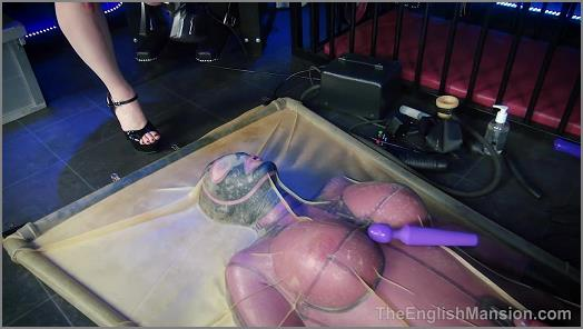 The English Mansion – Vacbed Tease – Part 2 –  Mistress Sidonia
