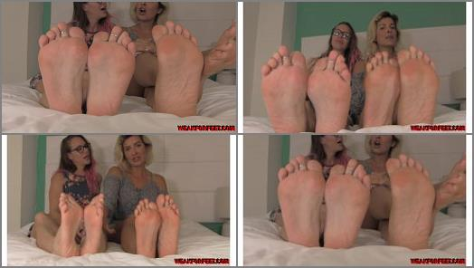 JOI foot fantasy – Weak for Feet – Double Foot Fantasy